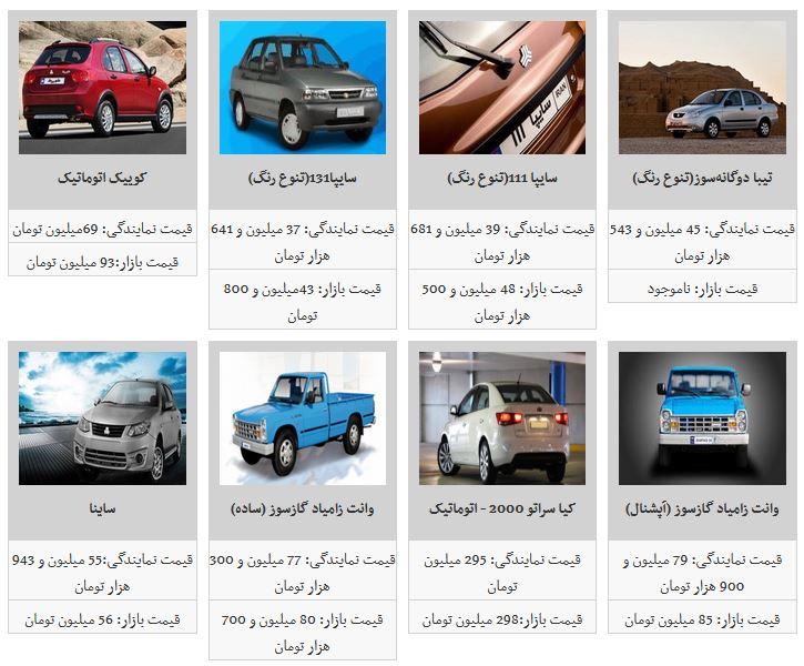 ثبات قیمت محصولات سایپا در بازار آزاد خودرو/ سایپا ۱۱۱ به ۴۸ میلیون و ۷۰۰ هزار تومان رسید