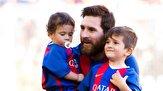 باشگاه خبرنگاران -خوشحالی پسر مسی از ناکامی بارسلونا +فیلم