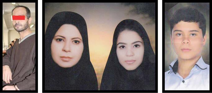 مردی که زن و بچه هایش را کشت: اعدامم کنید، پشیمان نیستم!