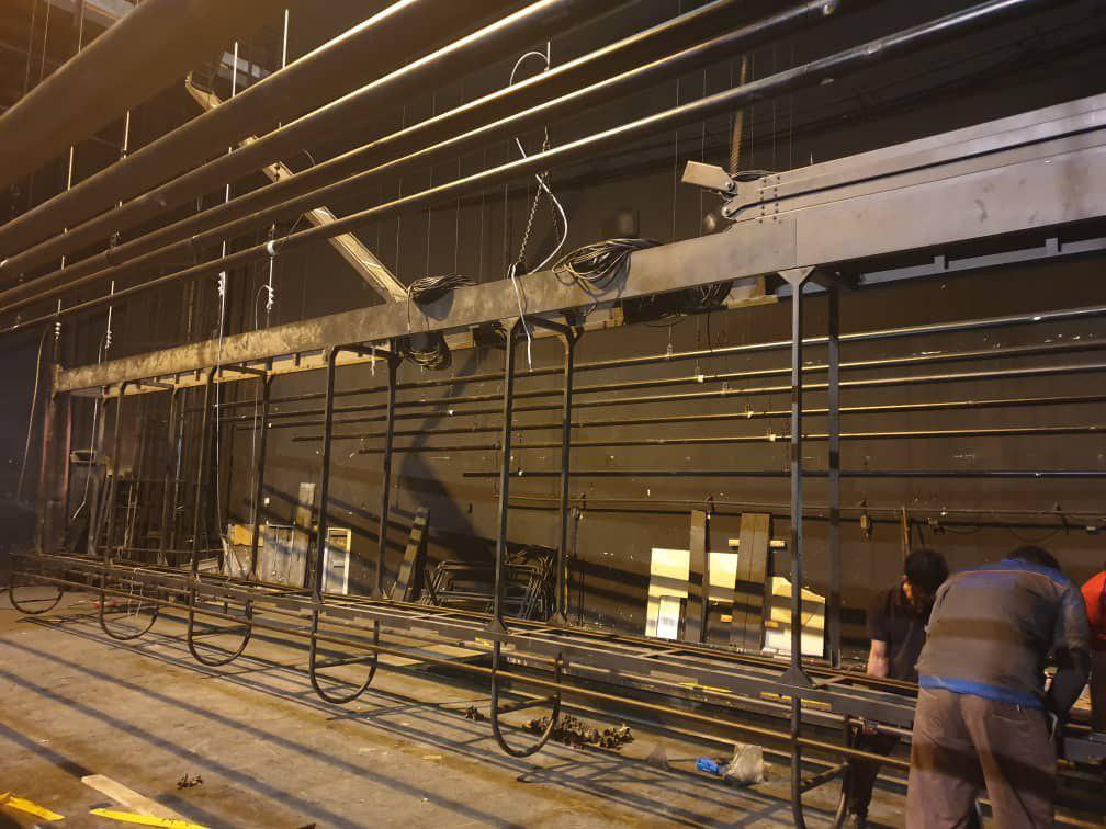 سالن اصلی تئاترشهر نیمه اول مهر ماه آماده بهره برداری است