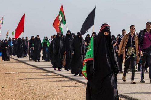 عکس اربعین پیاده روی