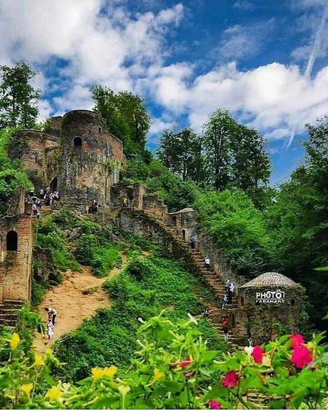 باشگاه خبرنگاران -تصویری زیبا و دیدنی از قلعه رودخان
