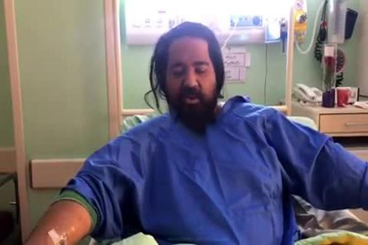 پای آقای خواننده زیر تیغ جراحی رفت