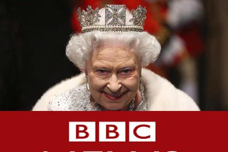 دست به سوزن شدن «BBC» برای وصله پینه آبروی انگلیس/ملکه پشت واژهها پناه گرفت + تصاویر