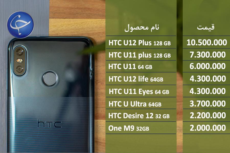 آخرین قیمت تلفن همراه در بازار (بروزرسانی 9 شهریور) +جدول
