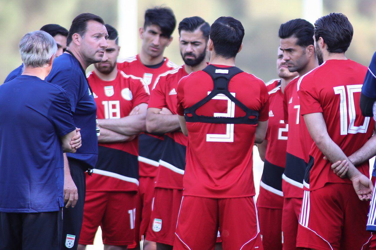 فهرست بازیکنان تیم ملی فوتبال ایران اعلام شد