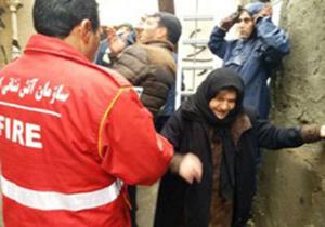 نجات ۷ نفر با تلاش آتش نشانان همدانی