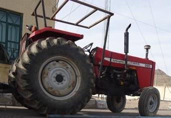 ممنوع بودن تردد تراکتورهای کشاورزی بدون پلاک