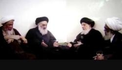 چهار مرجع بزرگ تقلید در عراق چه زمانی و چرا دور هم جمع شدند؟ + تصویر