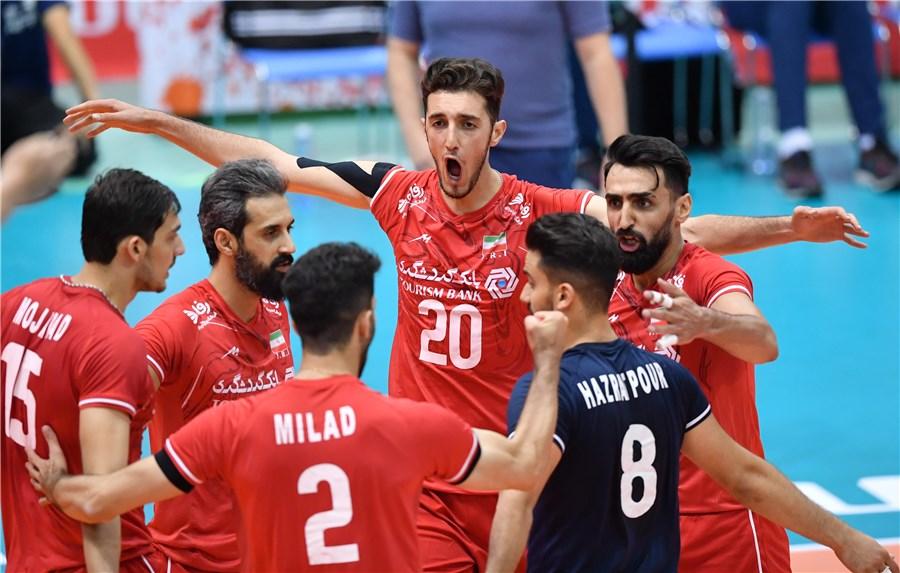 تیم ملی والیبال ایران ۱ - مصر ۱/ گزارش لحظه به لحظه ست سوم