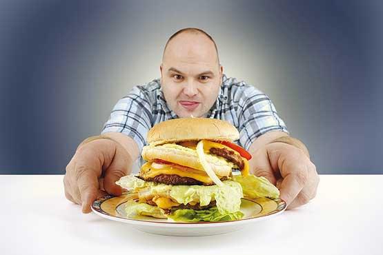 عصبانی شدن، شما را چاق میکند!