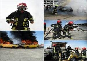 برگزاری مانور روز ایمنی و آتشنشانی در شهرستان مرند