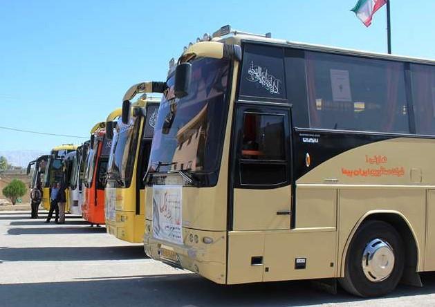 افزایش خدمت رسانی سازمان حمل و نقل بار و مسافر ایلام به زائران