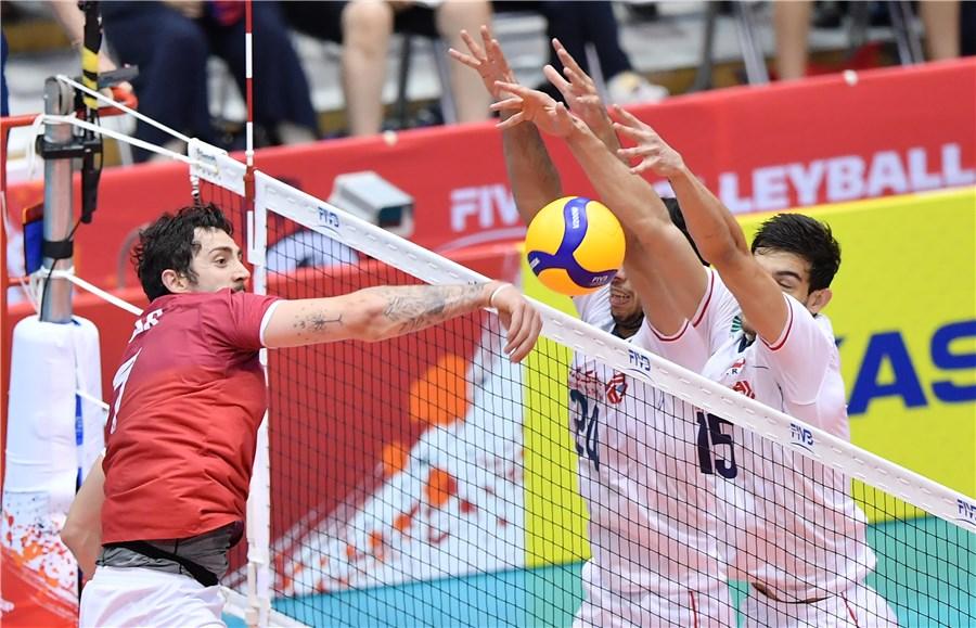 تیم ملی والیبال ایران ۳ - کانادا ۱ / برد دلچسب در گام سوم / اعتماد به جوانان جواب داد
