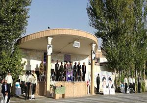 صبحگاه مشترک نیروهای مسلح مستقر در مهاباد