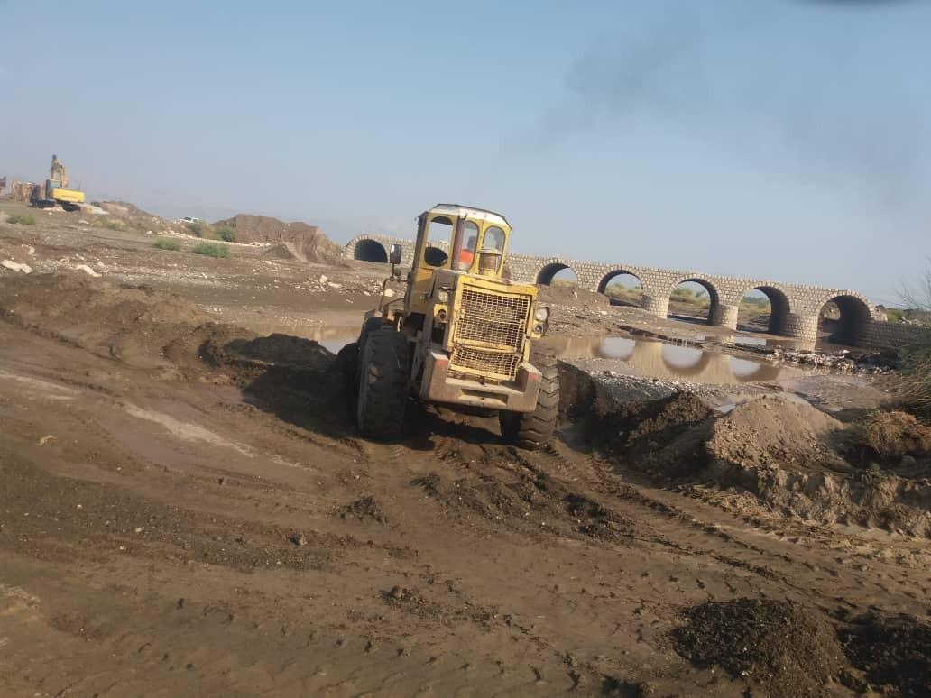 خسارت سیلاب به جادههای جنوب کرمان