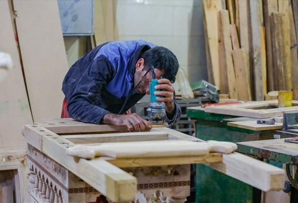 آموزش و اشتغال سالانه ۱۰۰۰ زندانی در کارگاههای کوچک در اراک
