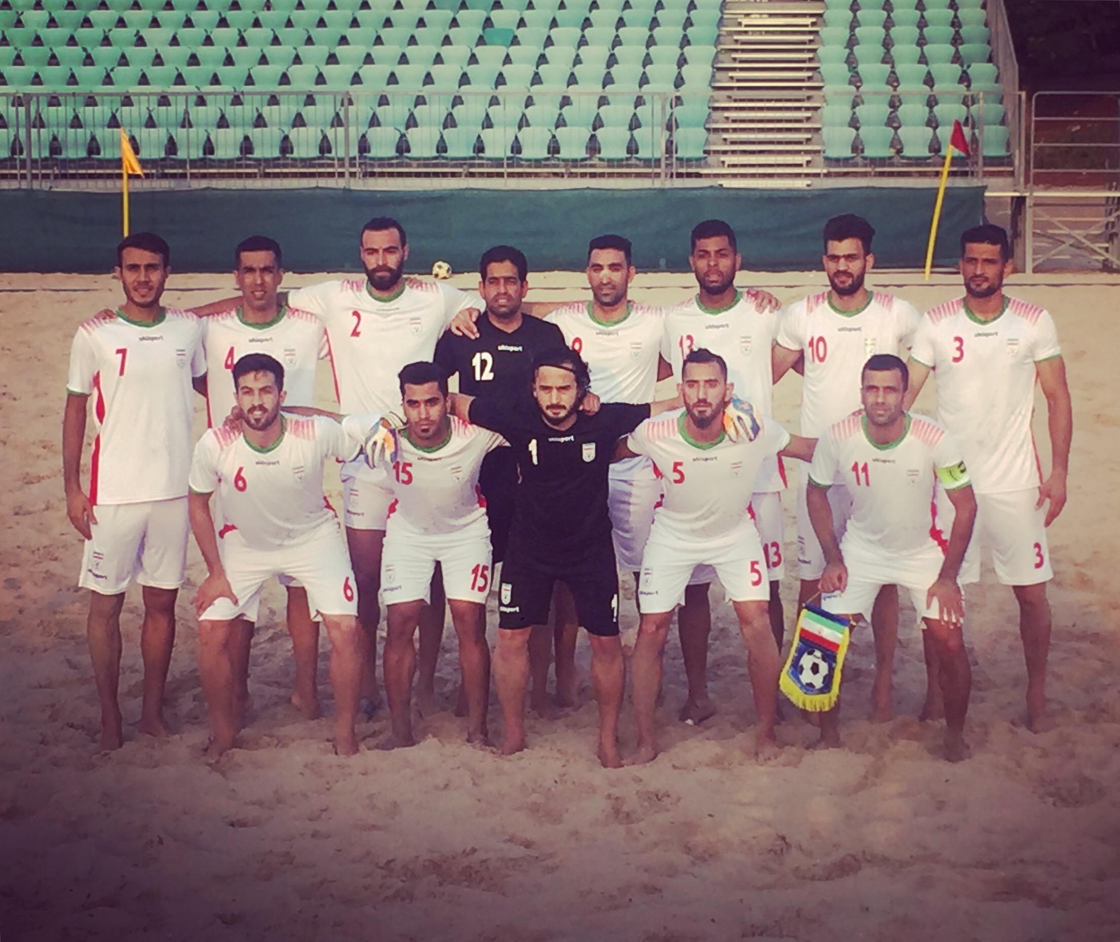 تیم ملی فوتبال ساحلی ایران مقابل عمان پیروز شد