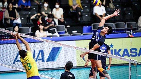 باشگاه خبرنگاران -تیم ملی والیبال ایران - برزیل / جدالی حساس و نفسگیر به امید انتقام در ژاپن