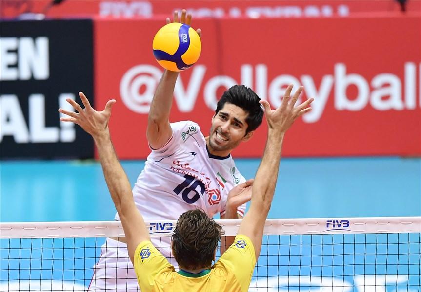 تیم ملی والیبال ایران ۱ - برزیل ۳/ نفس سلسائو مقابل جوانان ایران به شماره افتاد