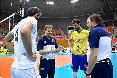 خلاصه بازی والیبال ایران و برزیل در ۱۴ مهر ۹۸ + فیلم