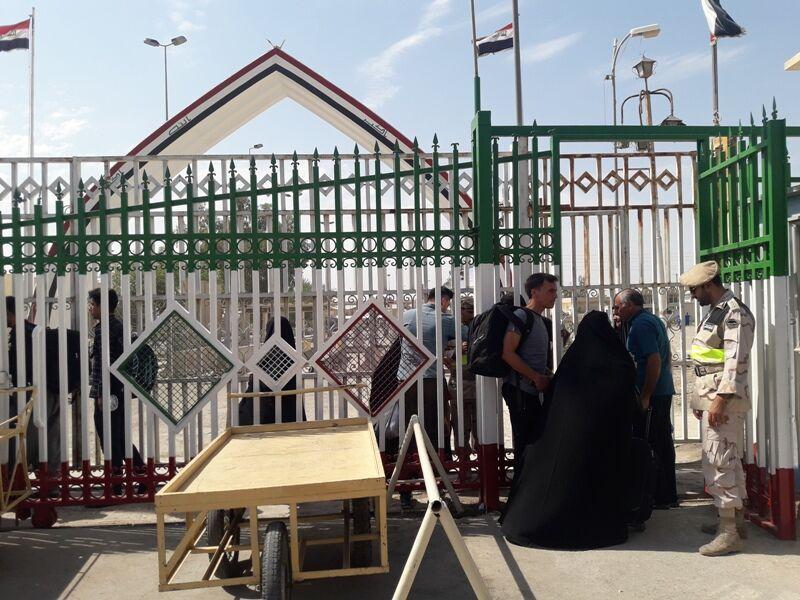مرز خسروی به روی زائران اربعین حسینی بازشد