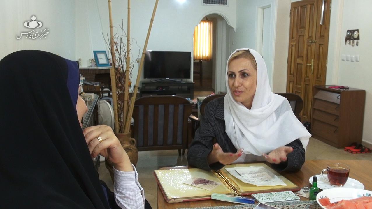 زن ارمنی با همسرش به جبهه میرفت + تصاویر