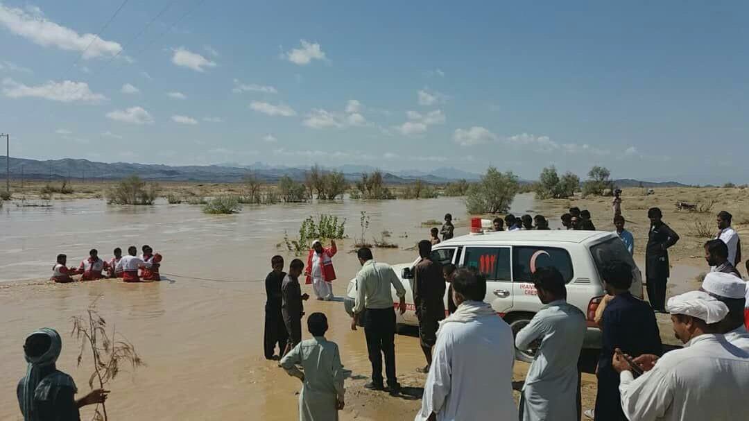 امدادرسانی به ۹۱۹ نفر آسیب دیده در روستاهای سیلزده سیستان و بلوچستان/۵۱ روستا خسارت دیدند