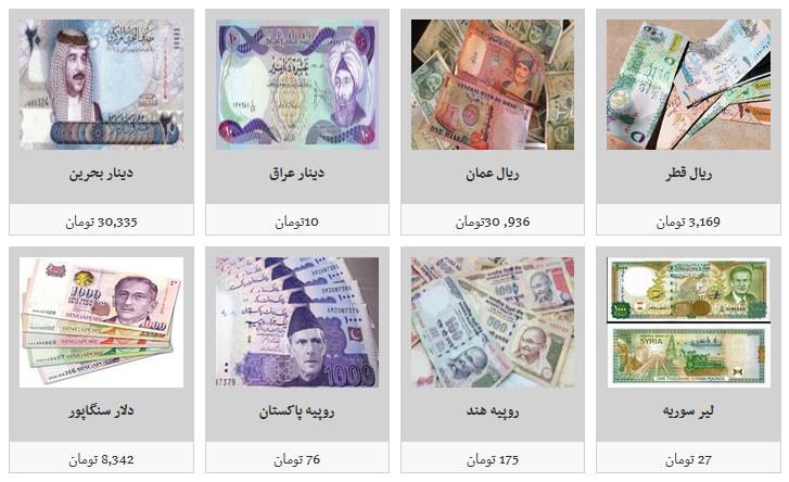 نرخ فروش ارز در صرافیهای مجاز/ دلار ۱۱ هزار و ۳۹۰ تومان