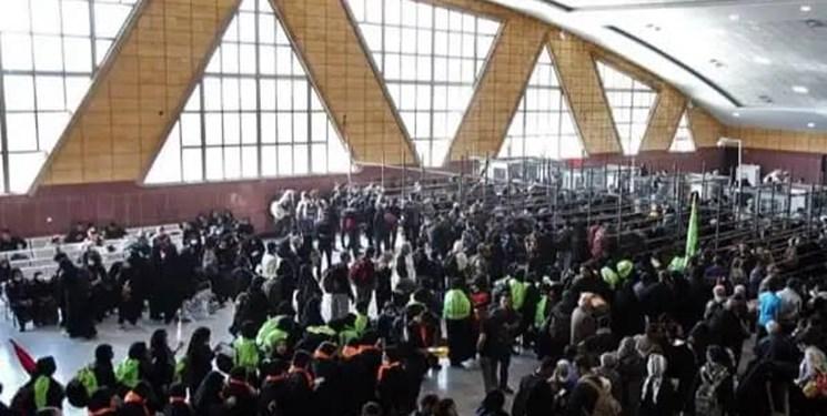 با زائران در مرزهای چذابه و شلمچه؛بیش از ۴۴ هزار نفر از مرز چذابه راهی عتبات عالیات شدند