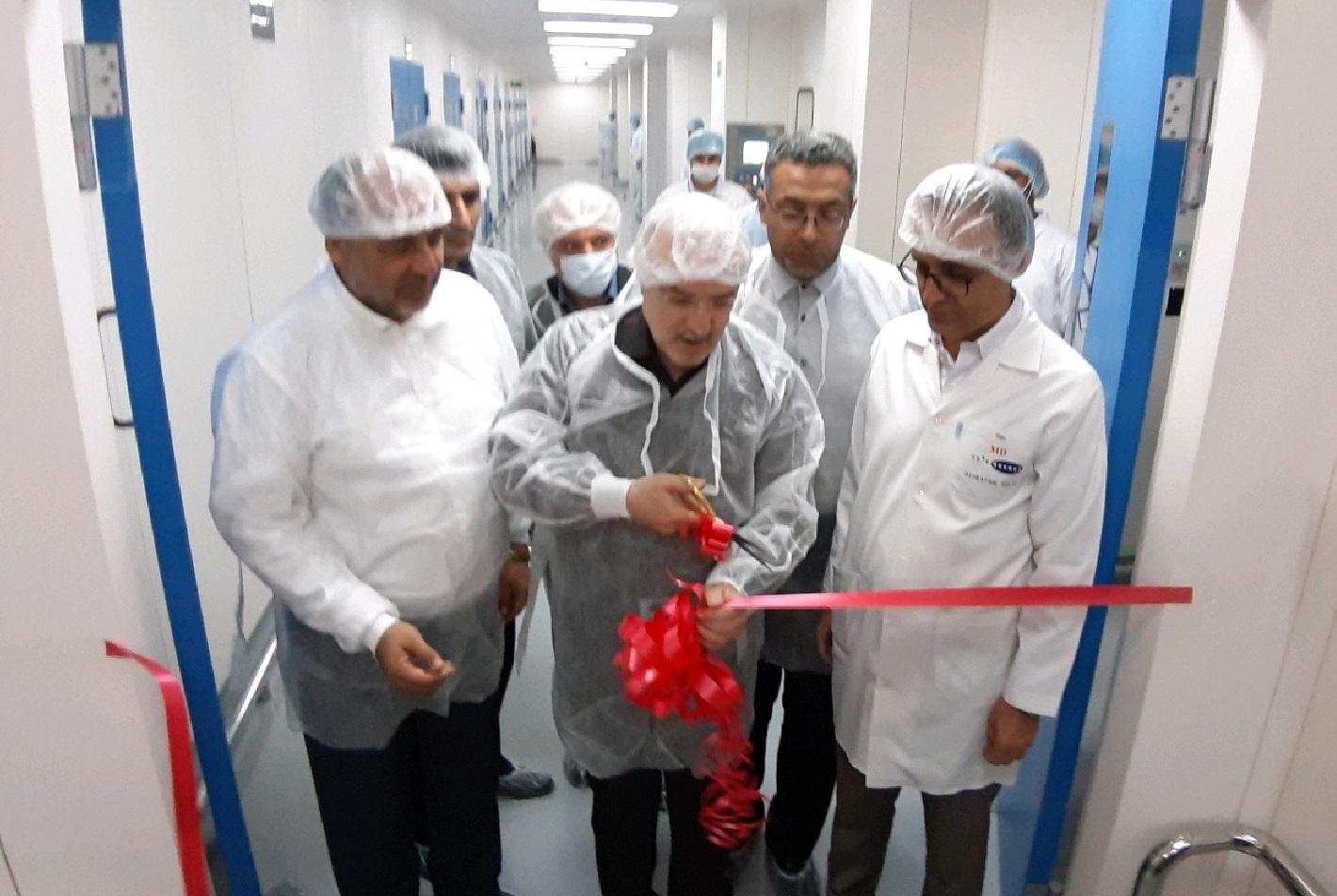 افتتاح خط تولید داروهای دیابت و اعصاب روان در ساوه