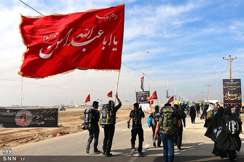 نام نویسی ۱۶۵ دانشجوی دانشگاه بوعلی برای شرکت در پیاده روی اربعین