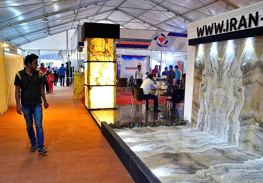 افتتاح داوزدهمین نمایشگاه بین المللی سنگ ایران