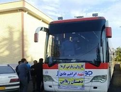اعزام ۲۲۰ زائر اولی دهستان زیلایی به راهپیمایی اربعین