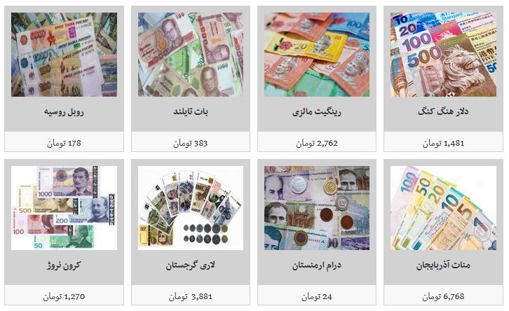 جدیدترین قیمت ارز در بازار آزاد/ دلار ۱۱ هزار و  تومان