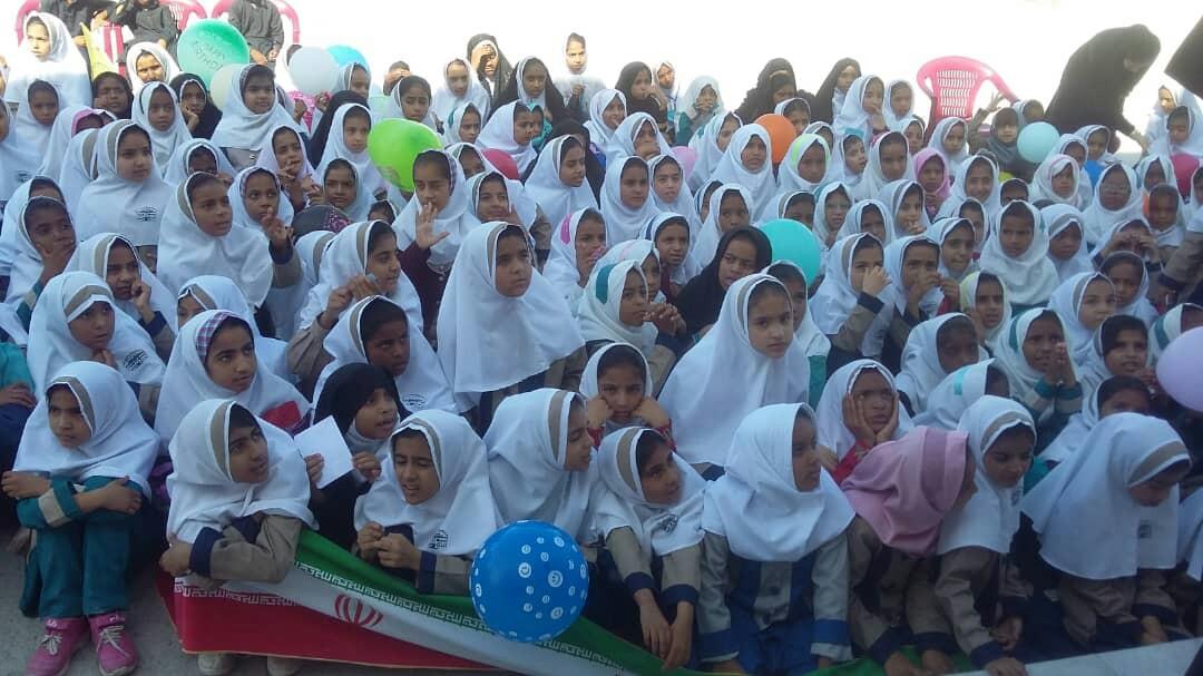 جشن روز جهانی کودک در سرباز