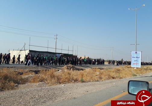 با زائران در مرز مهران؛ زوار گوشیهای خود را به وای فای ناشناس وصل نکنند/ خودروها در ورودی مهران پارک شوند + تصاویر
