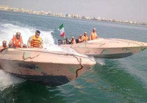 آخرین روز هفته نیروی انتظامی ... نمایش آرامش خلیج فارس