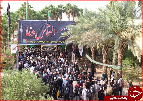 گزارش تصویری از تردد و حضور پرشور زوار در مرز خسروی