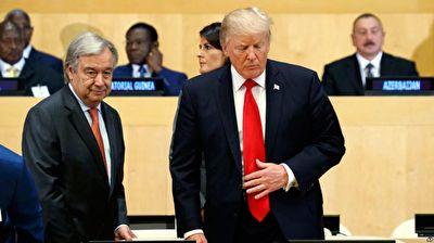 وقتی آمریکا، سازمان ملل ار جریمه میکند! + فیلم