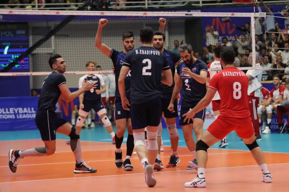 تیم ملی والیبال ایران - آمریکا / گزارش لحظه به لحظه ست نخست