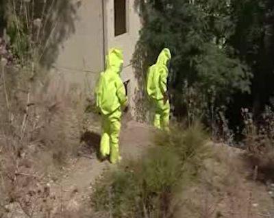 برگزاری مانور مقابله با حمله شیمیایی در لبنان + فیلم