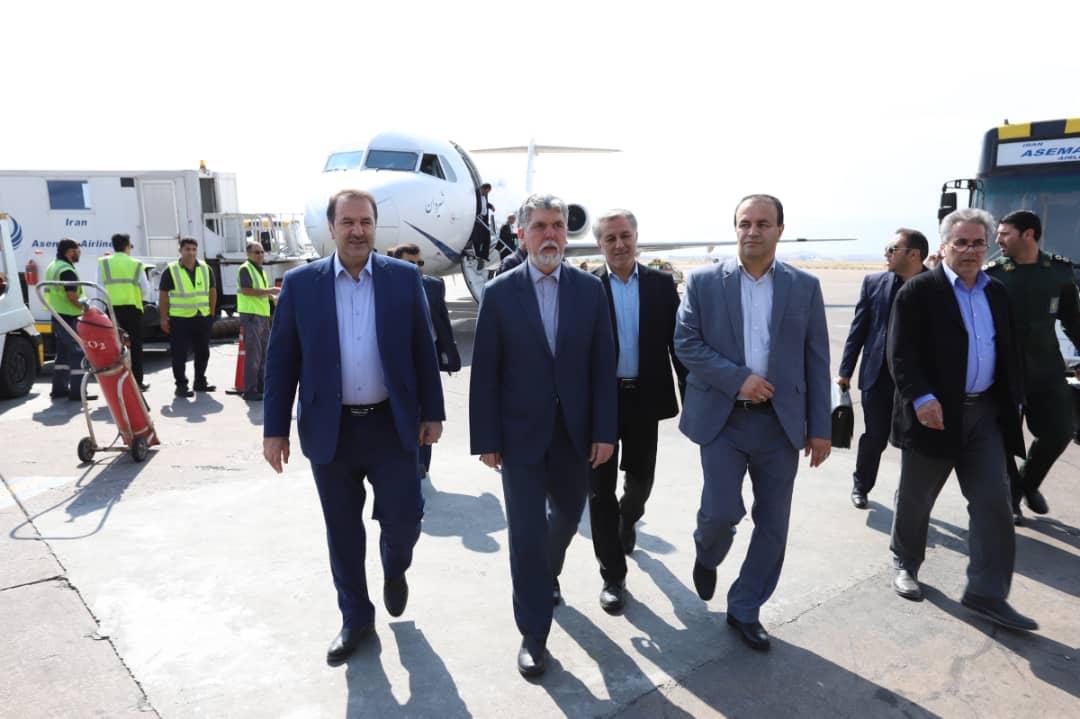 وزیر فرهنگ و ارشاد اسلامی وارد فارس شد