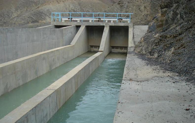 ترمیم سد و کانال انحرافی روستای بردبل چرداول در گرو اعتبار