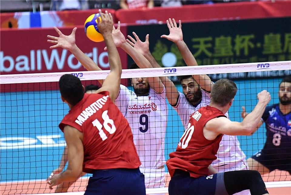 تیم ملی والیبال ایران ۱ - آمریکا ۳/ داشته های کولاکوویچ ته کشید
