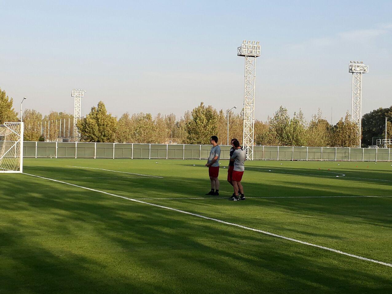 آخرین تمرین تیم ملی فوتبال ایران/ ملی پوشان آماده تقابل با کامبوج