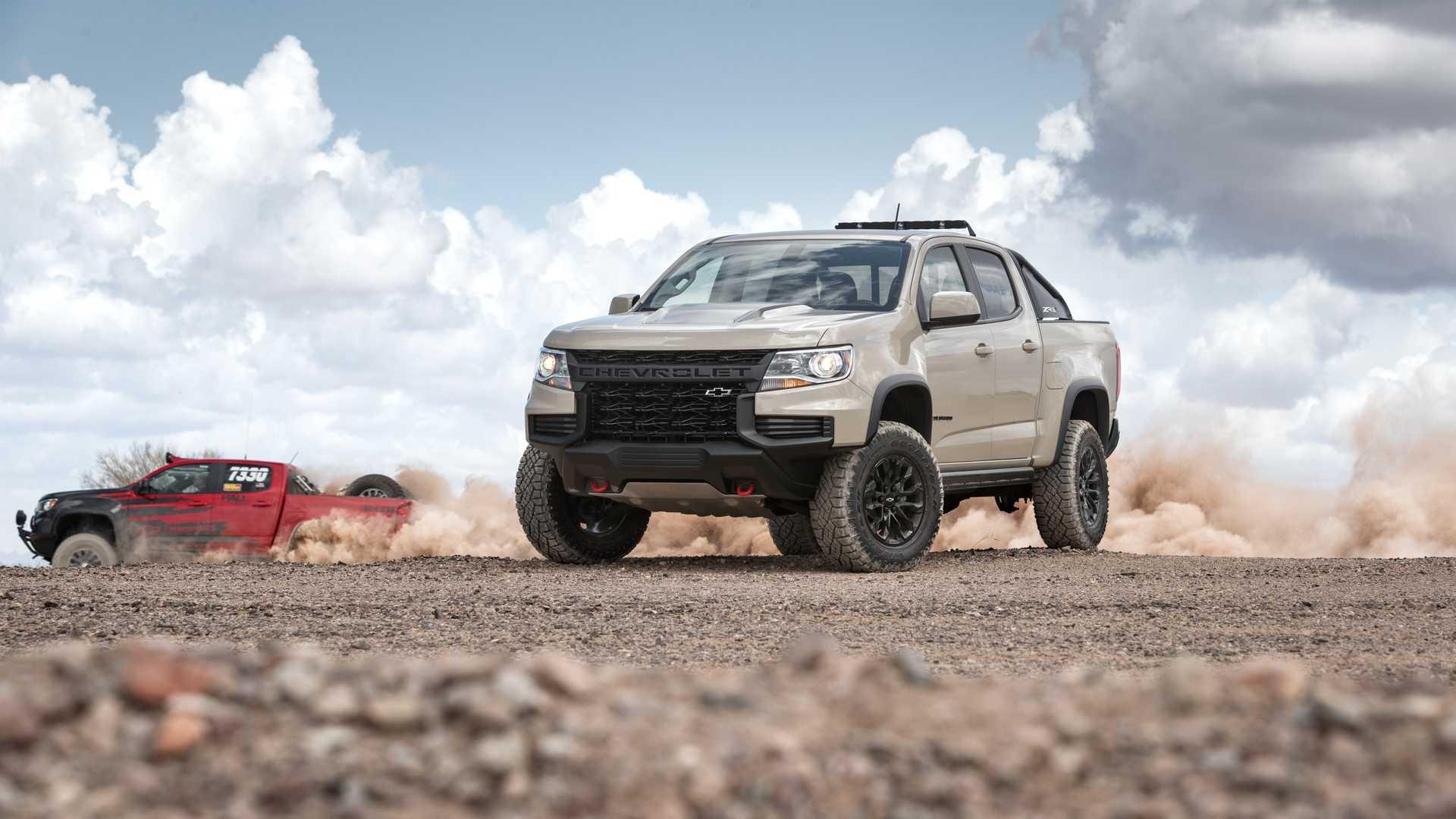 رونمایی پیکاپ تراک قدرتمند Chevrolet Colorado 2021 +تصاویر