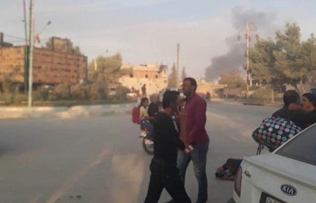 آغاز عملیات نظامی ترکیه در شمال شرق سوریه + تصاویر و فیلم