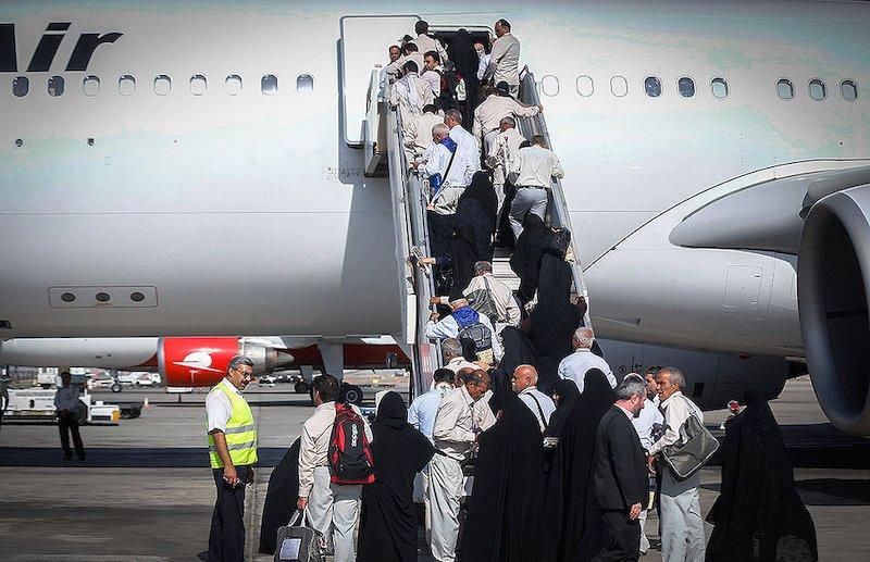 جابهجایی بیش از ۷۵ هزار زائر توسط خطوط هوایی در اربعین