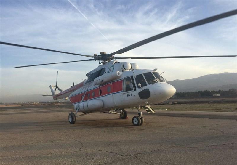 تا کنون فقط دو بالگرد اورژانس در مرز مهران مستقرشده است